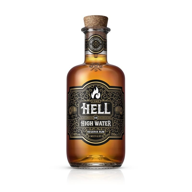 Rum Hell Or High Water Reserva 8y 0,7l 40%