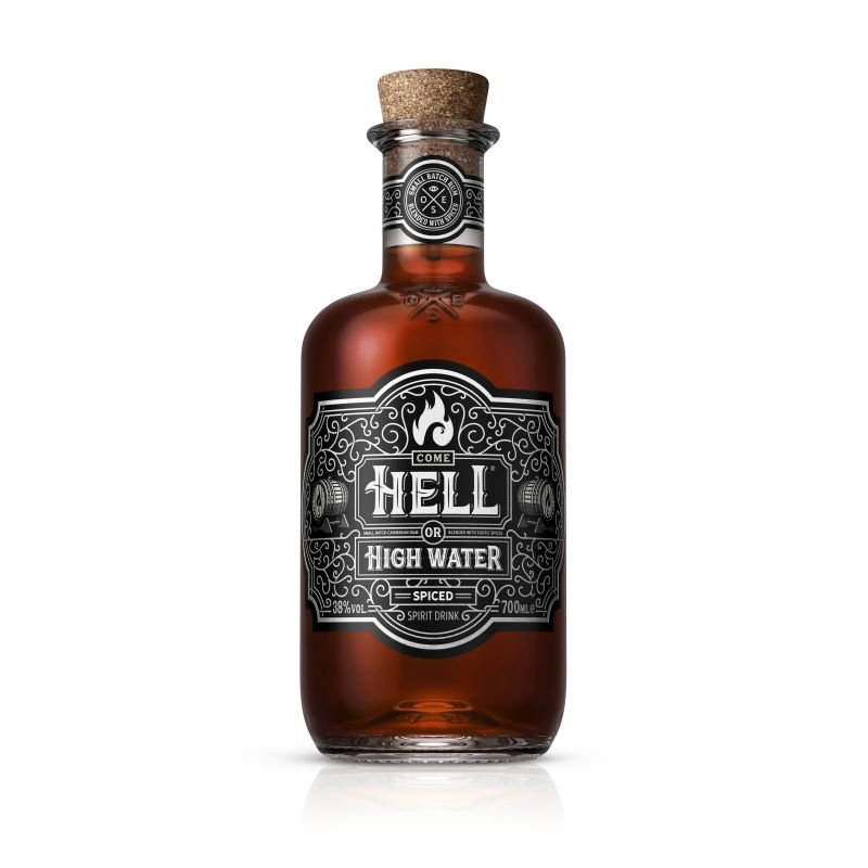 Rum Hell Or High Water Spiced 0,7l 38%