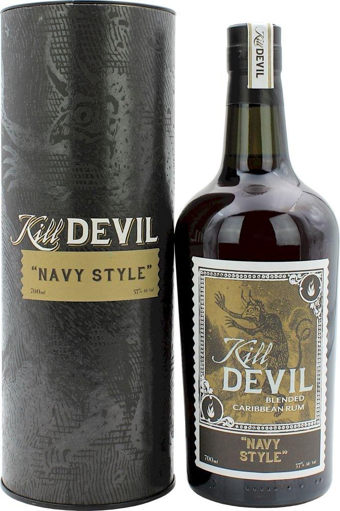 Rum Hunter Laing Kill Devil Navy Style 0,7l 57% GB
