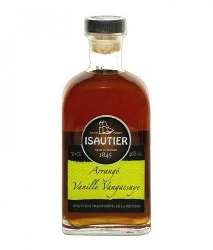 Rum Isautier Arrangé Vanille Agrume Vangassaye 0,5l 40%