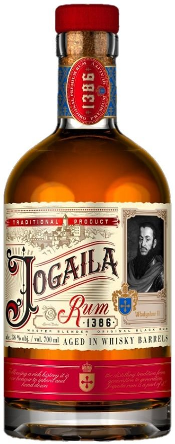 Rum Jogaila Black Rum 0,7l 38%