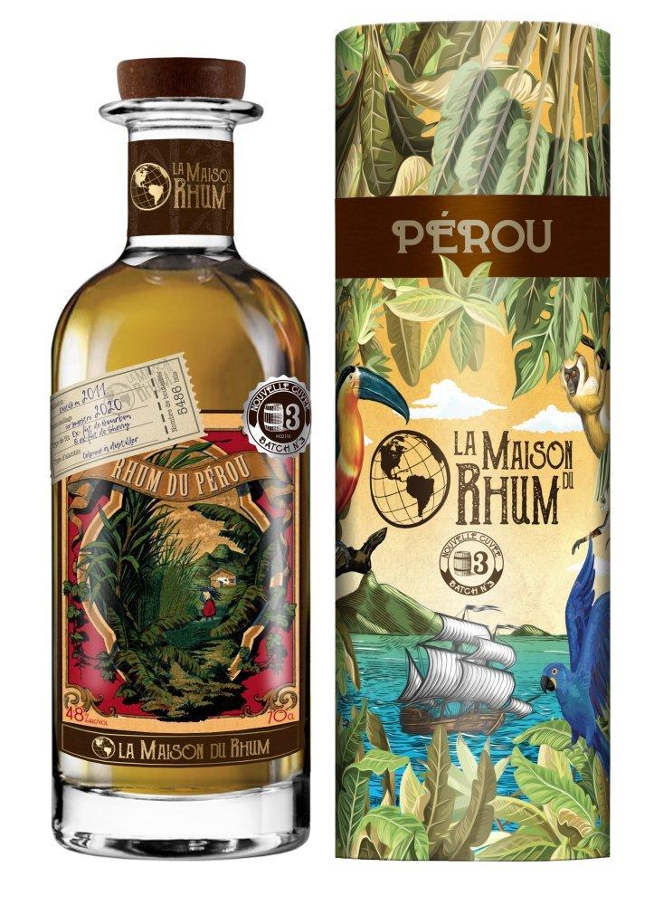Rum La Maison Du Rhum Peru No.3 9y 2011 0,7l 48% / Rok lahvování 2020