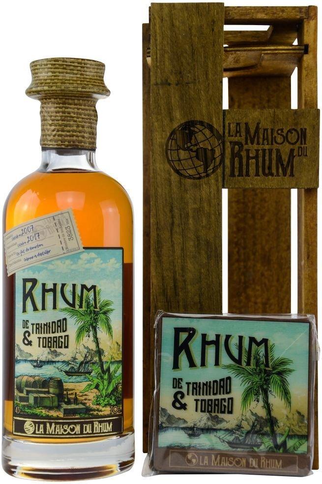 Rum La Maison Du Rhum Trinidad a Tobago No.1 10y 2007 0,7l 43% GB L.E. / Rok lahvování 2017