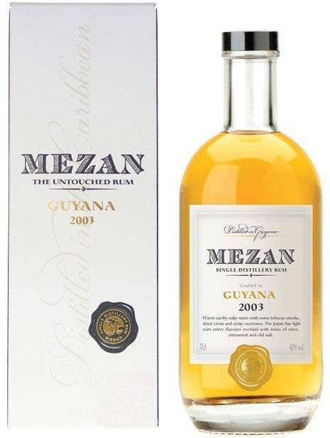 Rum Mezan Guyana 2003 0,75l 40%