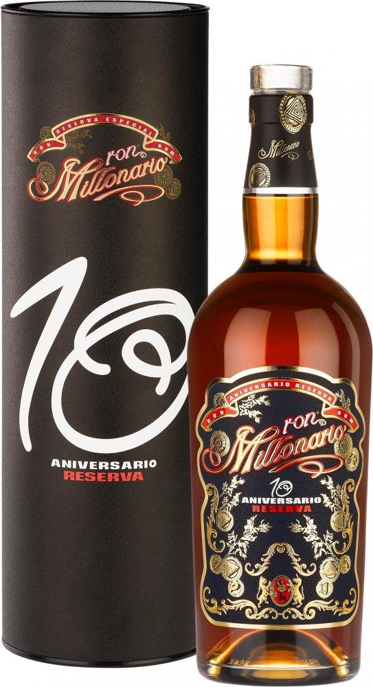 Rum Millonario Aniversario Reserva 10y 0,7l 40% Tuba