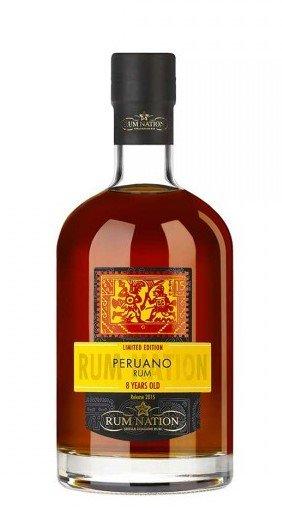 Rum Nation Peruano 8y 0,7l 42%