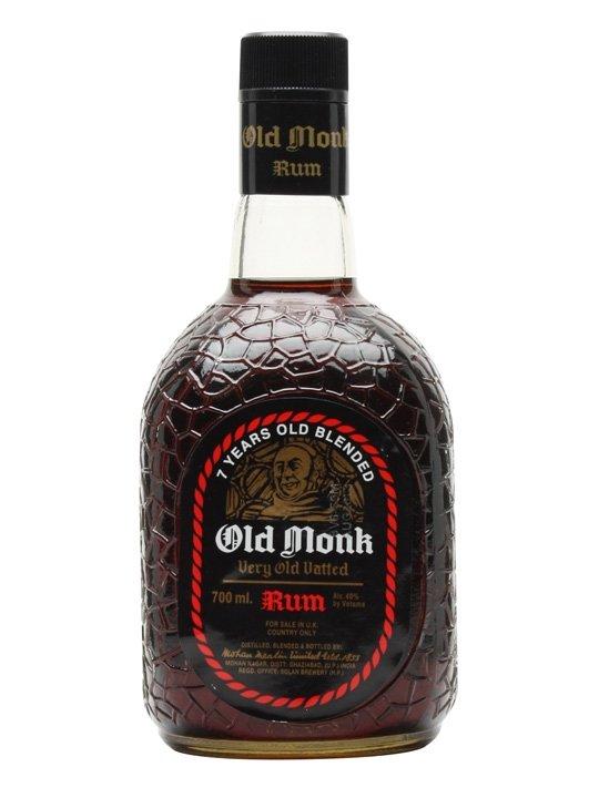 Rum Old Monk 7y 0,7l 42,8%