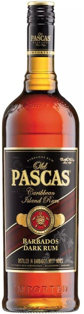 Rum Old Pascas Dark 1l 37,5%