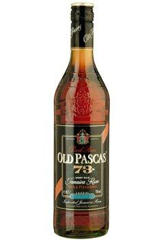 Rum Old Pascas Dark Rum 0,7l 73%