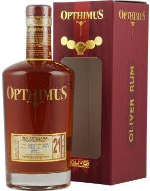 Rum Opthimus Magna Cum Laude 21y 0,7l 38% GB