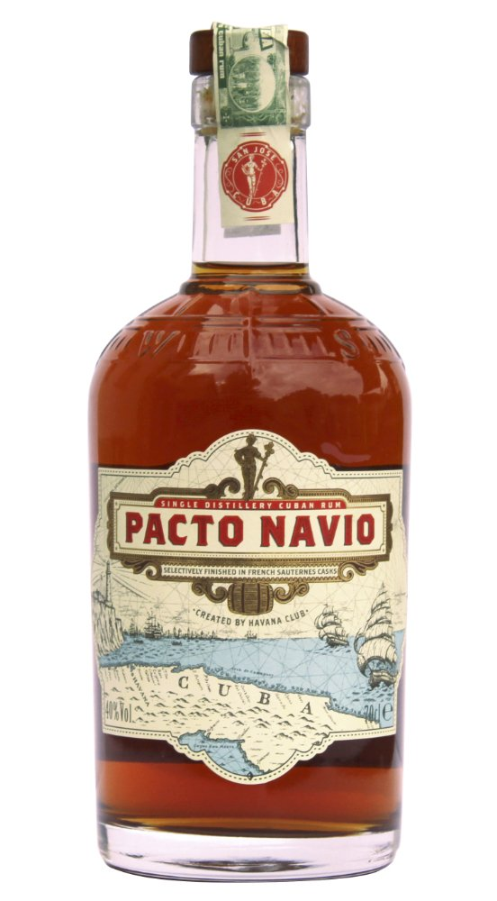 Rum Pacto Navio 0,7l 40%