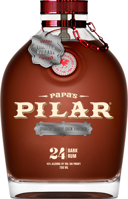 Rum Papa's Pilar Sherry Cask 24y 0,7l 43%