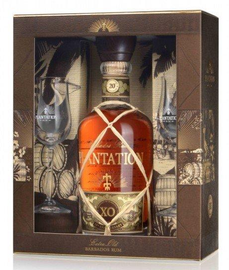 Rum Plantation 20th Anniversary XO 0,7l 40% + 2x sklo GB