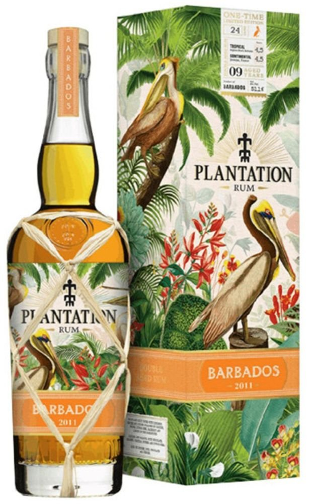 Rum Plantation Barbados 9y 2011 0,7l GB L.E. / Rok lahvování 2020