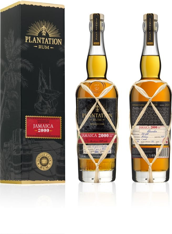 Rum Plantation Jamaica 20y 2000 0,7l 51,6% GB L.E. / Rok lahvování 2020