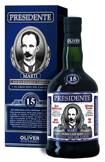 Rum Presidente Marti 15y 0,7l 40%
