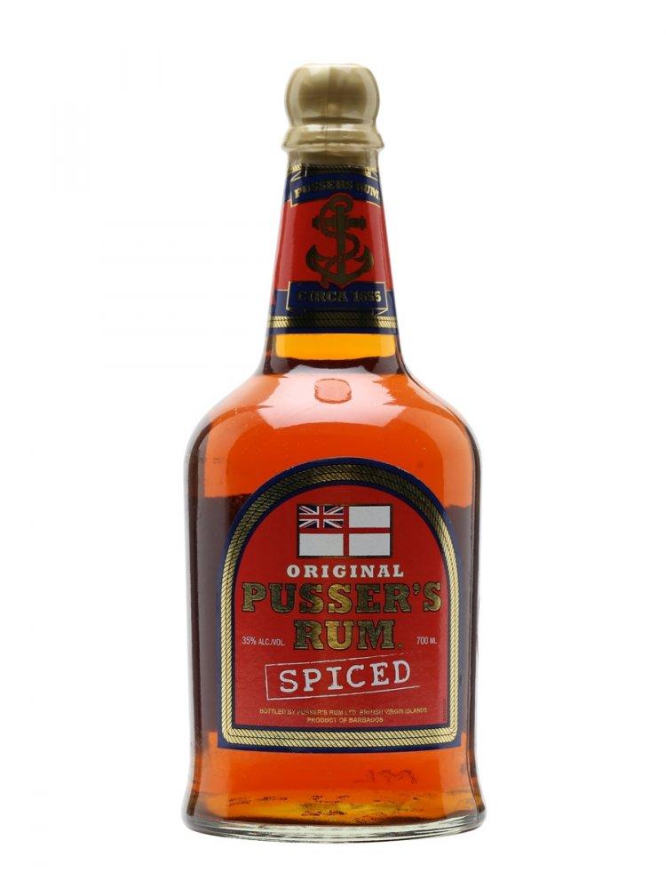 Rum Pusser's British Navy Rum 0,7l 35%