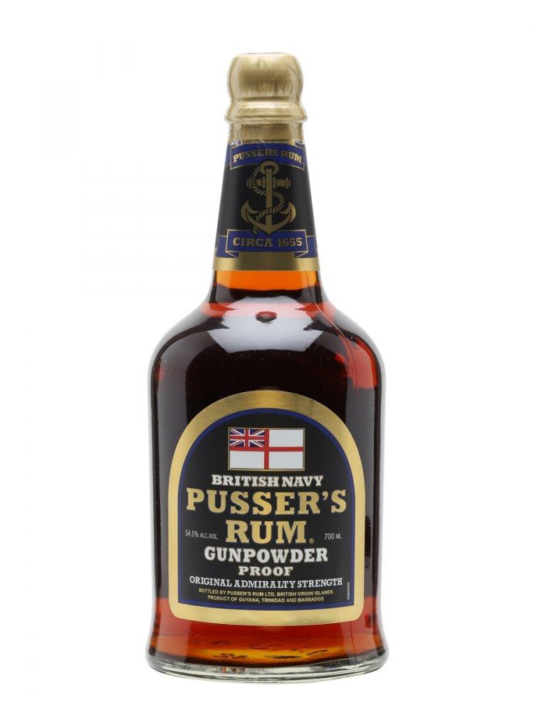Rum Pusser's British Navy Rum 0,7l 54,5%