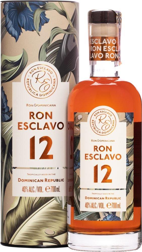 Rum Ron Esclavo 12y 0,7l 40% Tuba