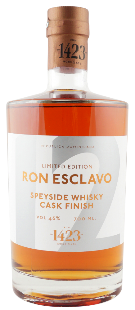 Rum Ron Esclavo Speyside Whisky 12y 0,7l 46% L.E.