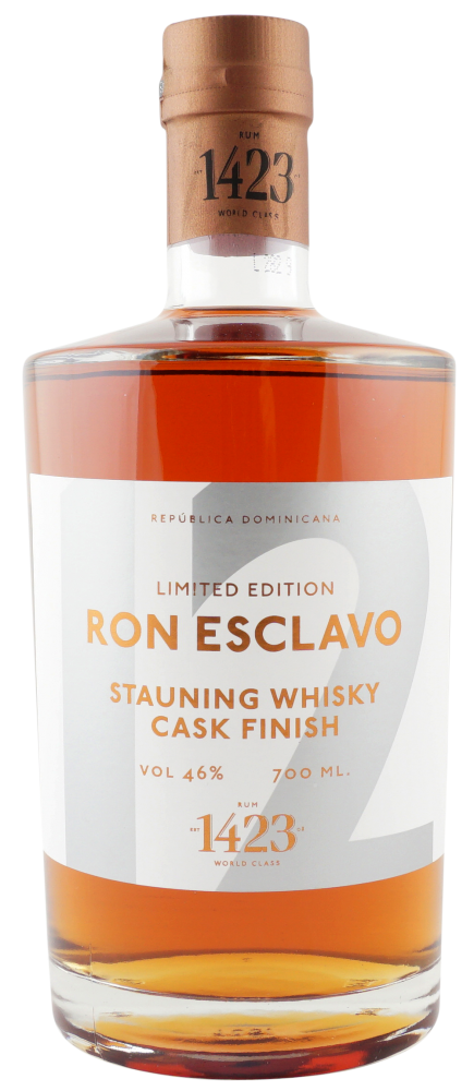 Rum Ron Esclavo Stauning Whisky 12y 0,7l 46% L.E.