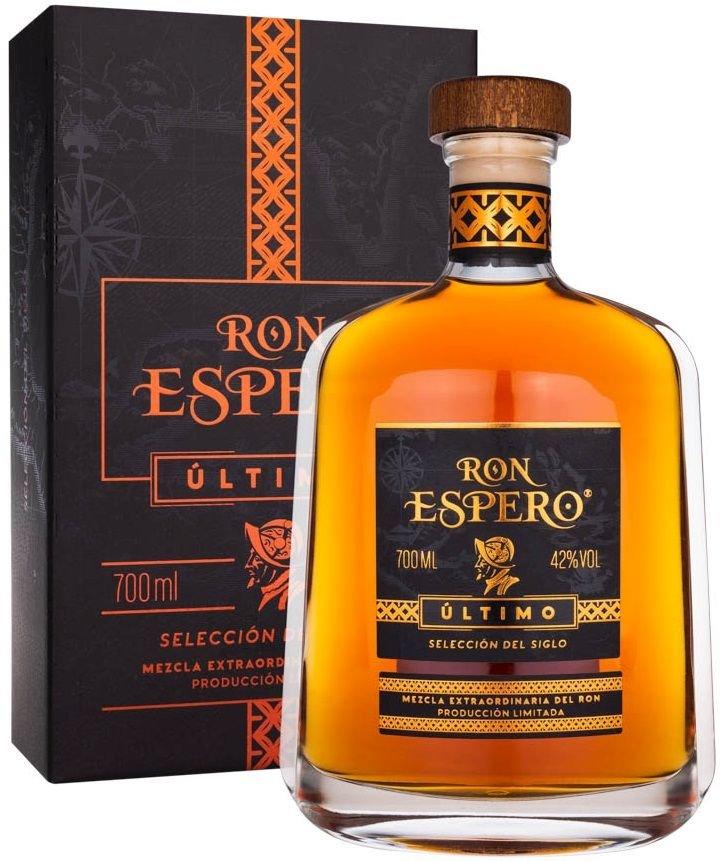 Rum Ron Espero Último 0,7l 42% GB