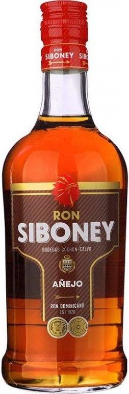 Rum Ron Siboney Anejo 1l 37,5%