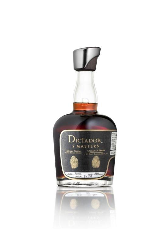 Rum Rum Dictador 2 Masters Glenfarclas 44y 1974 0,7l 43,4% / Rok lahvování 2019