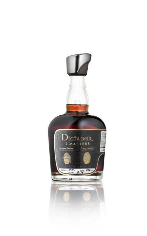 Rum Rum Dictador 2 Masters Laballe 41y 1976 0,7l 44,9% / Rok lahvování 2019