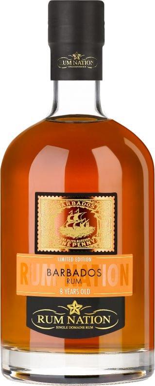 Rum Rum Nation Barbados 8y 0,7l 40% GB L.E.