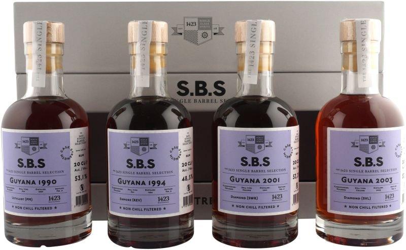 Rum S.B.S Cask Strength Guyana 4×0,2l GB L.E.