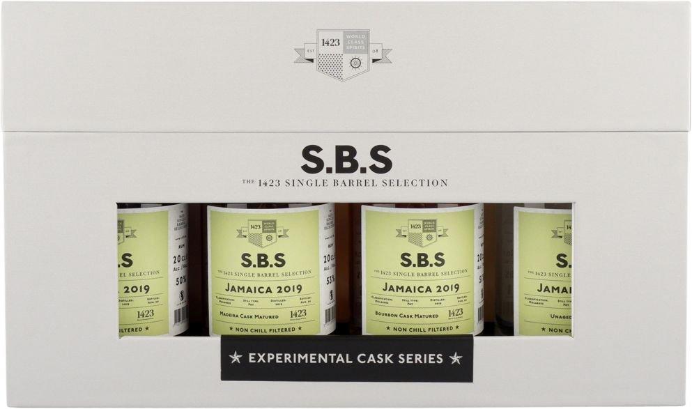 Rum S.B.S Experimental Cask Series Jamaica 2019 4×0,2l GB