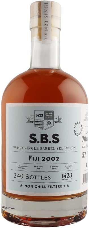 Rum S.B.S Fiji 18y 2002 0,7l 57,1% L.E. / Rok lahvování 2020