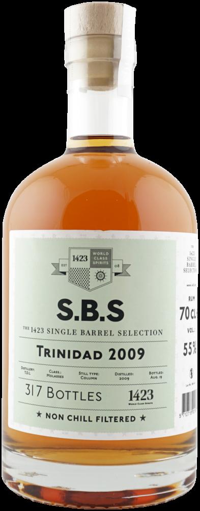 Rum S.B.S Trinidad 10y 2009 0,7l 55% L.E.
