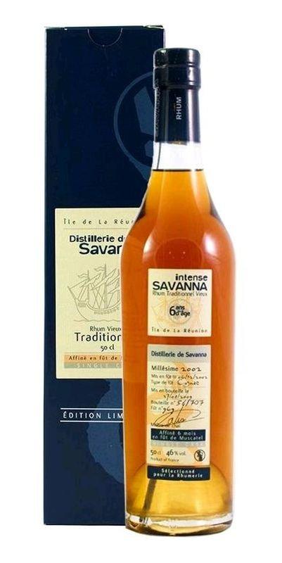 Rum Savanna Muscatel No.969 6y 2002 0,5l 46% GB L.E. / Rok lahvování 2009