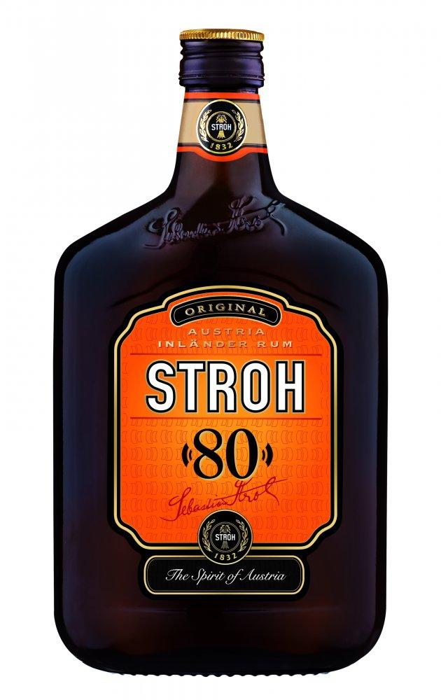 Rum Stroh rum 0,5l 80%
