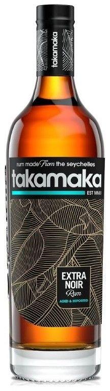 Rum Takamaka Extra Noir Aged 0,7l 38%