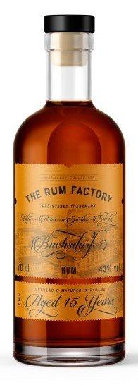 Rum The Rum Factory 15y 0,7l 43%
