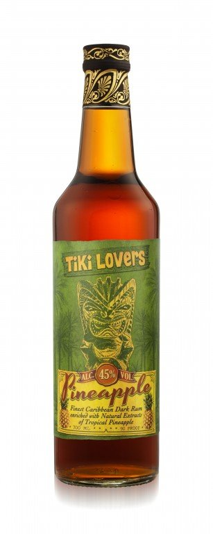 Rum Tiki Lovers Pineapple 0,7l 45%