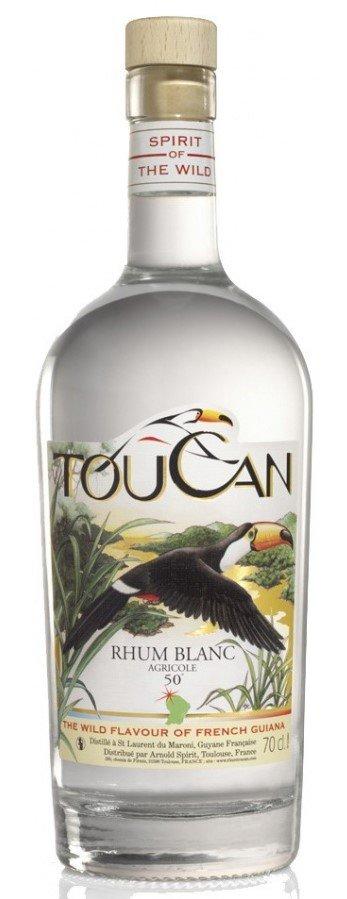 Rum Toucan Blanc 0,7l 50%