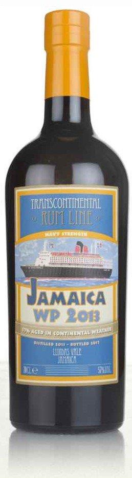 Rum Transcontinental  Rum Line Jamaica 4y 2013 0,7l 57% GB / Rok lahvování 2017