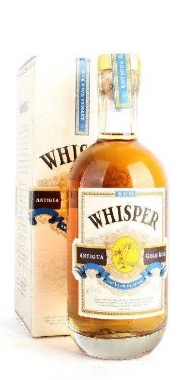 Rum Whisper Antigua Gold Rum 2y 0,7l 40% GB