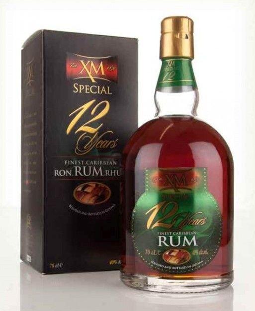 Rum XM Demerara Special 12y 0,7l 40%
