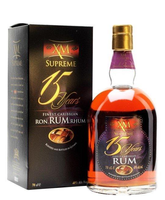 Rum XM Demerara Supreme 15y 0,7l 40%