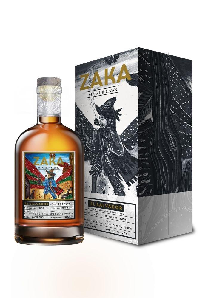 Rum Zaka El Salvador 13y 2007 0,7l 42% L.E. / Rok lahvování 2020