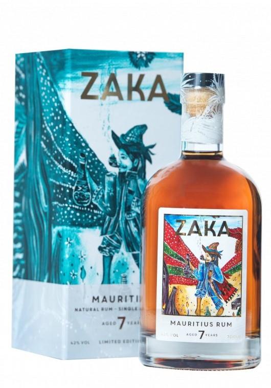 Rum Zaka Mauritius 7y 0,7l 42% L.E.
